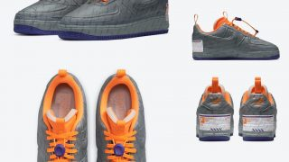 NIKE AIR FORCE 1 EXPERIMENTAL POSTAL GREYが4/24に国内発売予定【直リンク有り】