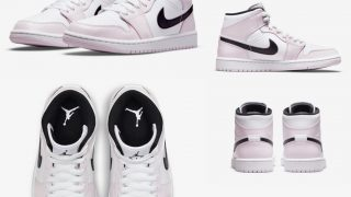 NIKE WMNS AIR JORDAN 1 MID LIGHT VIOLETが4/23に国内発売予定【直リンク有り】