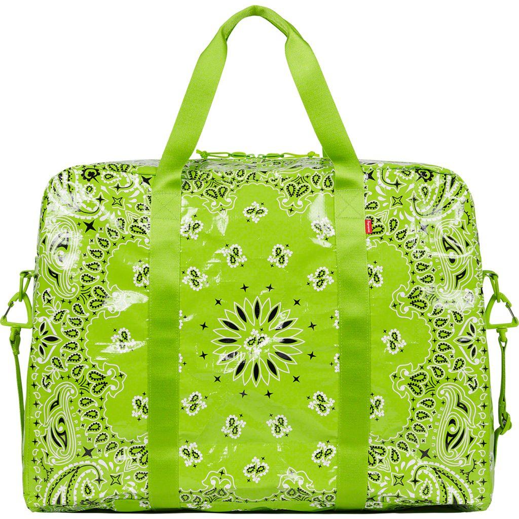 supreme-21ss-spring-summer-bandana-tarp-large-duffle-bag