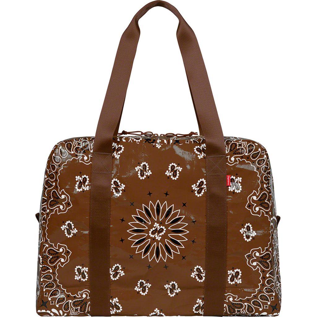 supreme-21ss-spring-summer-bandana-tarp-small-duffle-bag