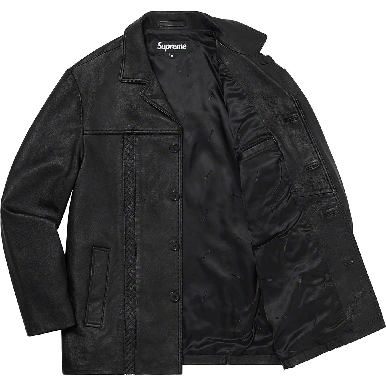 supreme-21ss-spring-summer-braided-leather-overcoat