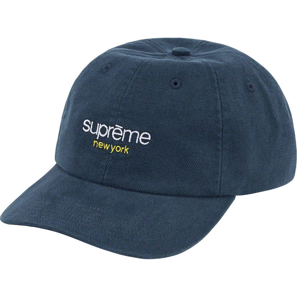 supreme-21ss-spring-summer-classic-logo-6-panel