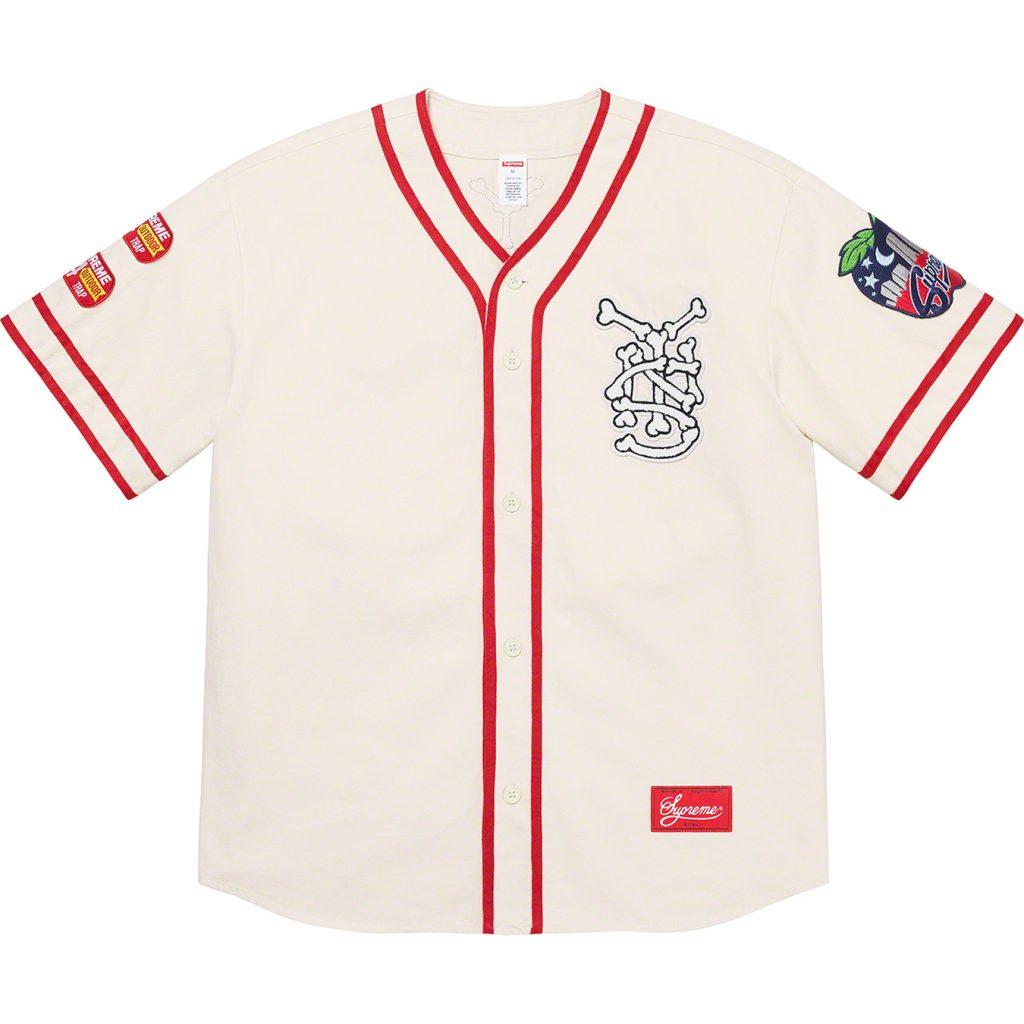 supreme-21ss-spring-summer-patches-denim-baseball-jersey