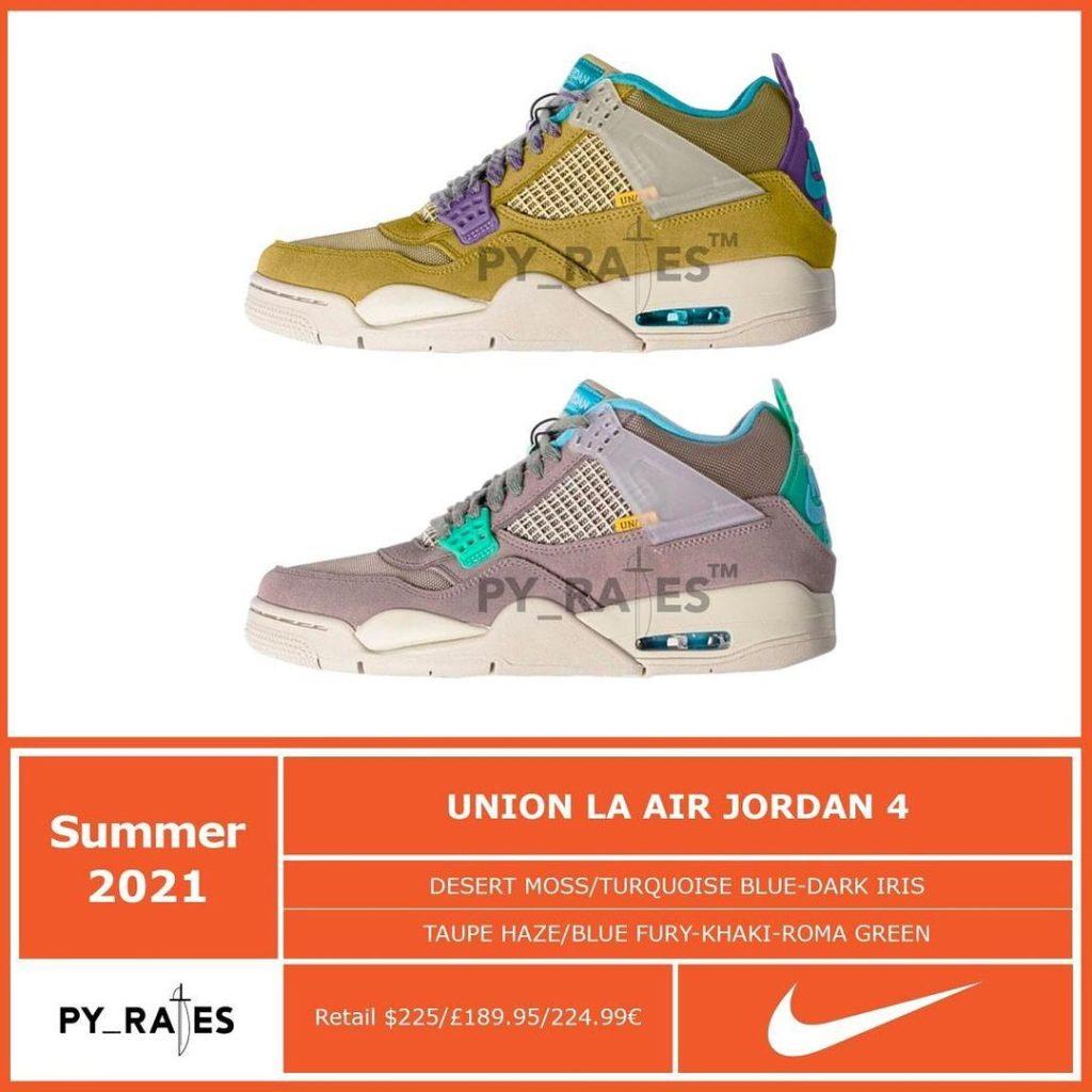 union-la-nike-air-jordan-4-30th-anniversary-release-2021-summer
