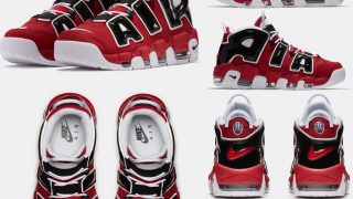 NIKE AIR MORE UPTEMPO 96 BULLS / HOOP PACKが5/14に国内発売予定【直リンク有り】