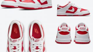 NIKE DUNK LOW CHAMPIONSHIP REDが7/30に国内発売予定【直リンク有り】