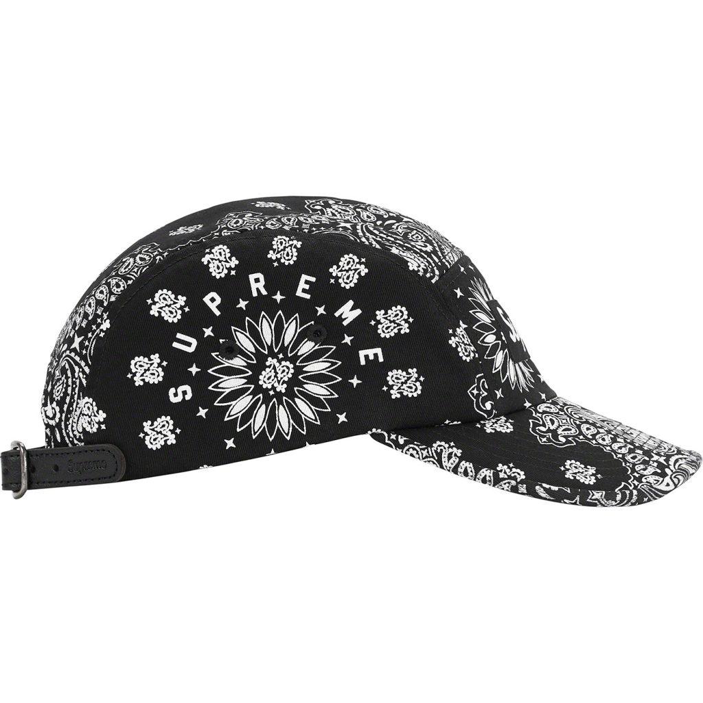 supreme-21ss-spring-summer-bandana-camp-cap