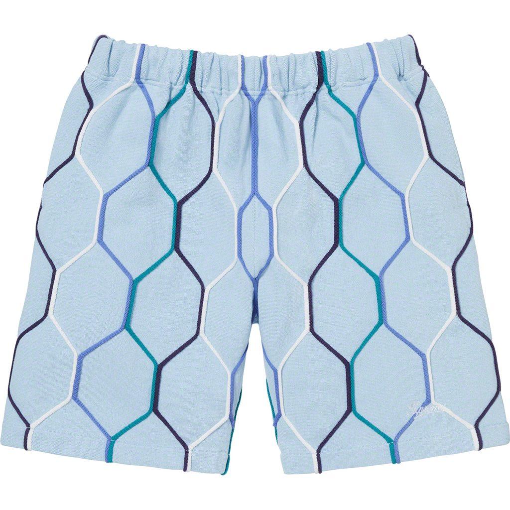 supreme-21ss-spring-summer-hex-knit-short