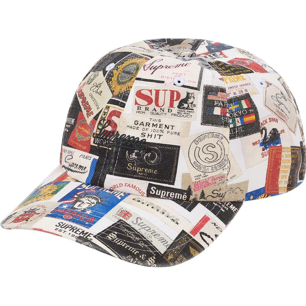 supreme-21ss-spring-summer-labels-6-panel