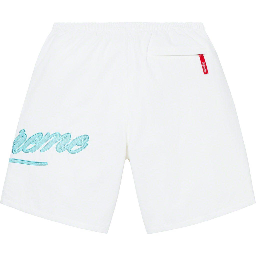 supreme-21ss-spring-summer-mesh-script-water-short