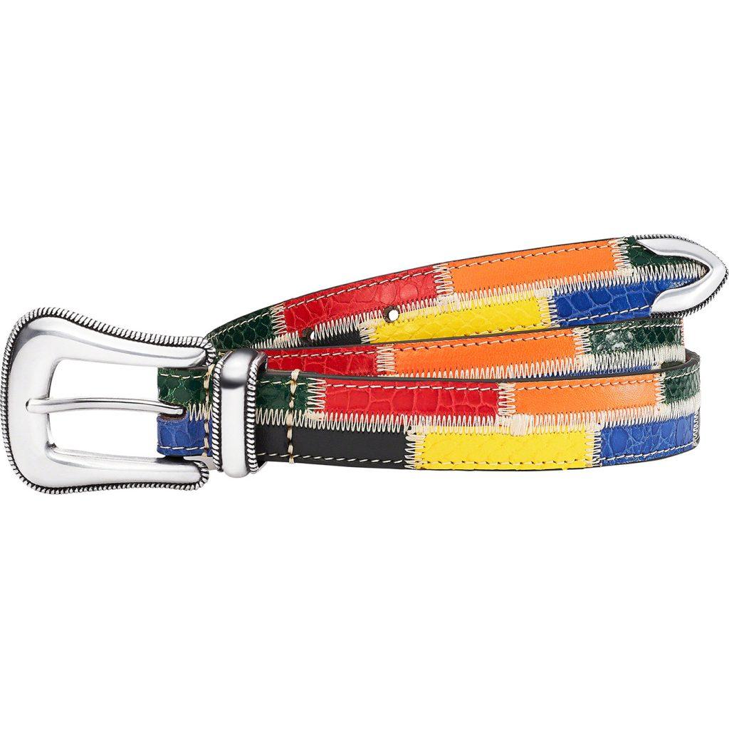 supreme-21ss-spring-summer-patchwork-ranger-belt