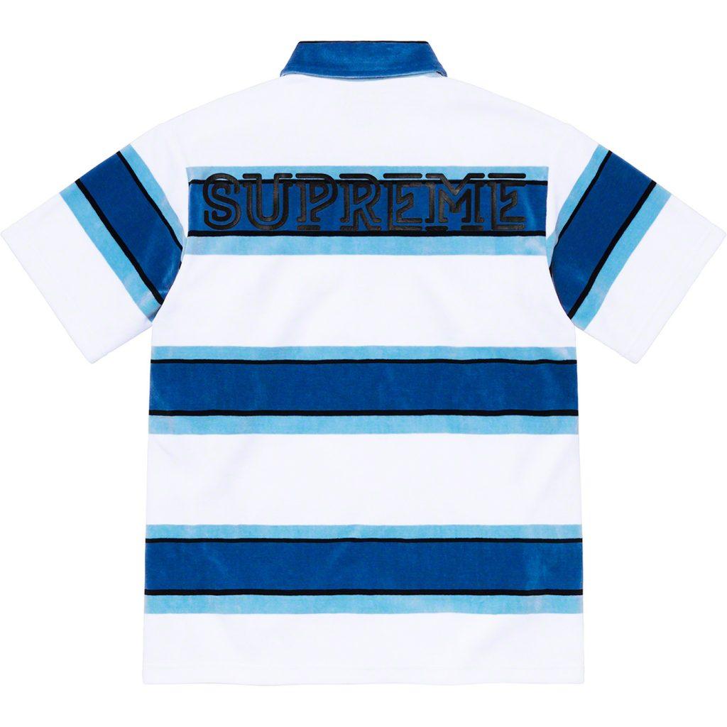 supreme-21ss-spring-summer-stripe-velour-polo