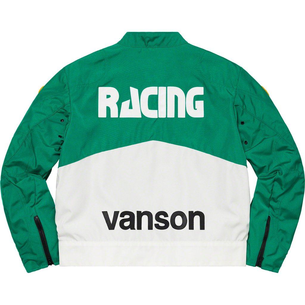 supreme-21ss-spring-summer-supreme-vanson-leathers-cordura-jacket