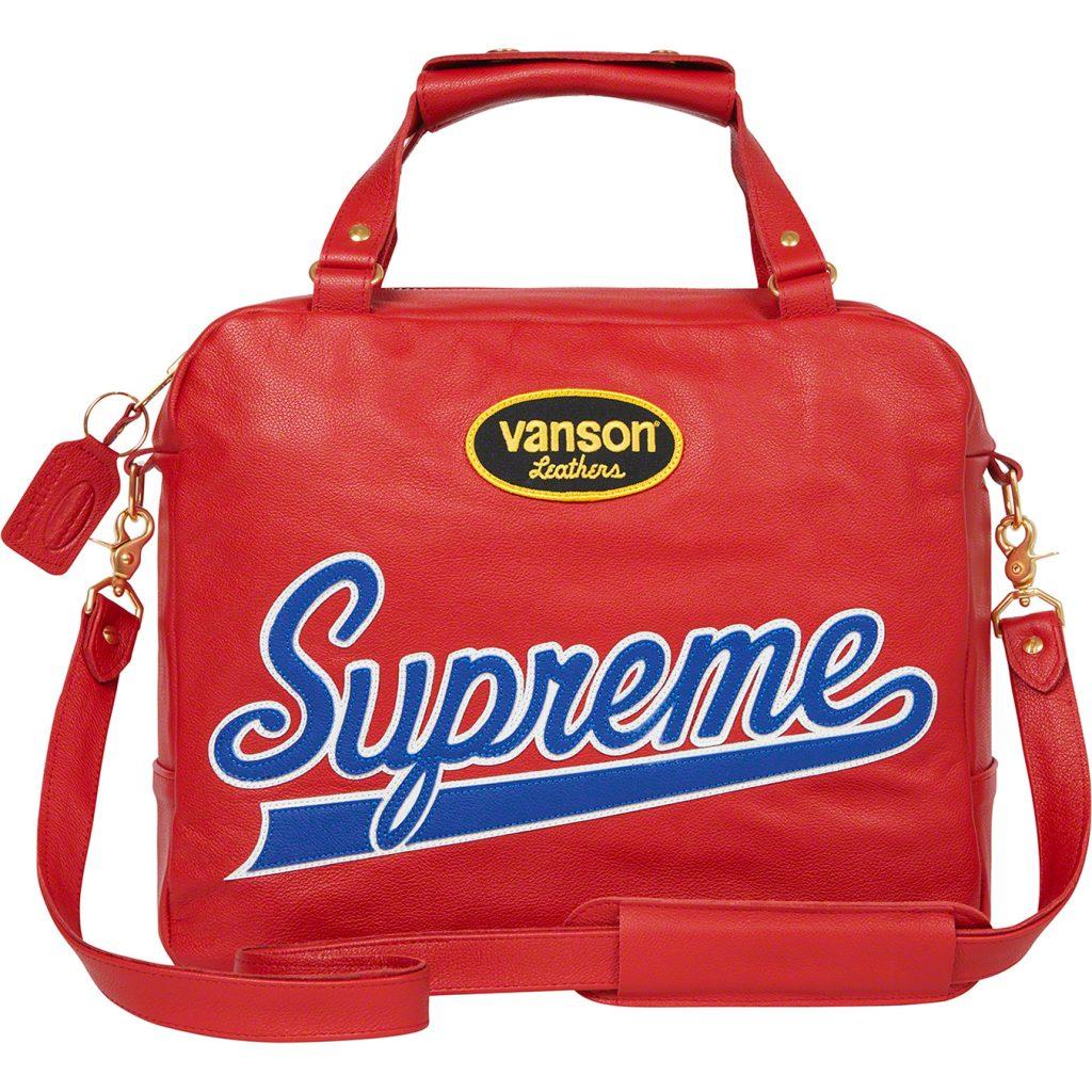 supreme-21ss-spring-summer-supreme-vanson-leathers-spider-web-bag
