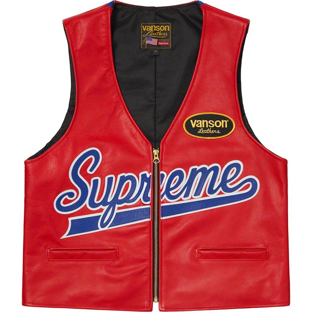 supreme-21ss-spring-summer-supreme-vanson-leathers-spider-web-vest