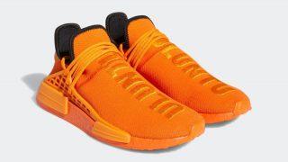 PHARRELL WILLIAMS × adidas NMD HU ORANGEが6/12に国内発売予定【直リンク有り】