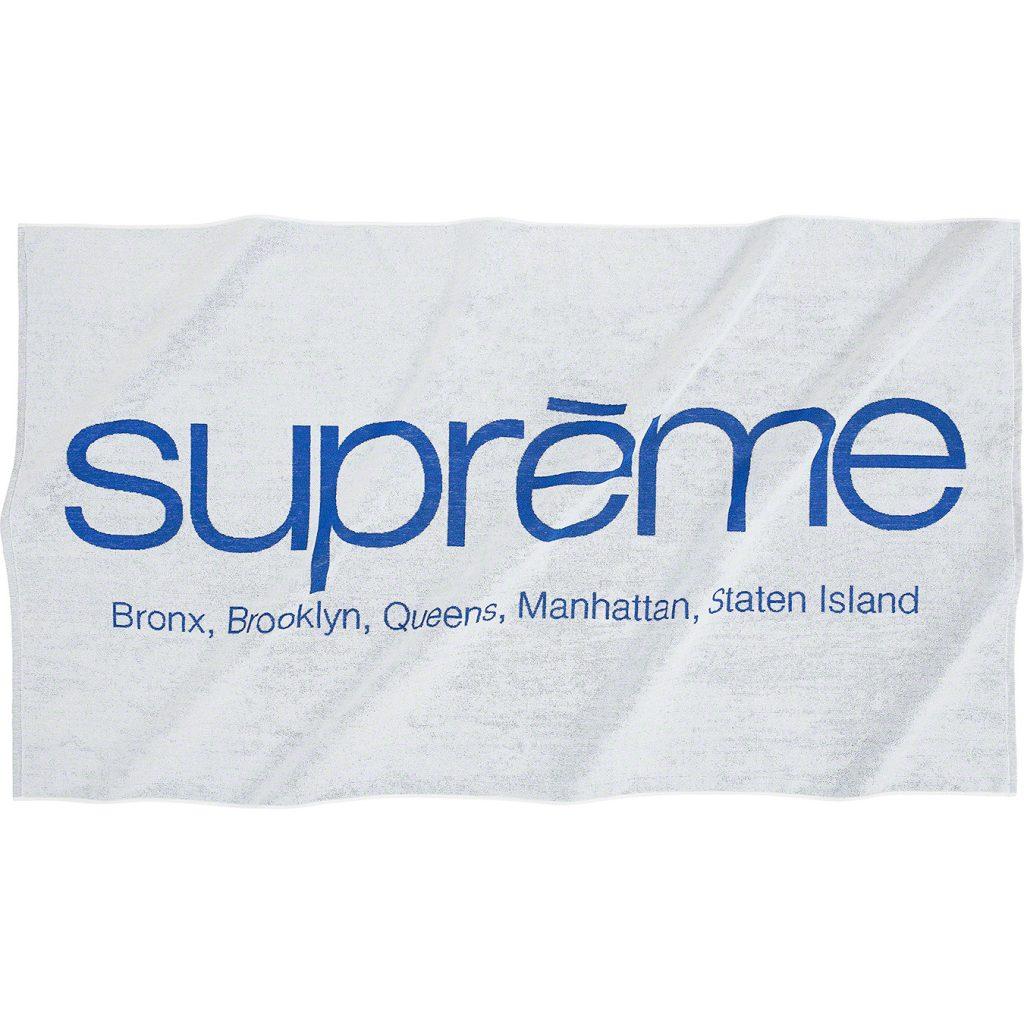 supreme-21ss-spring-summer-five-boroughs-towel