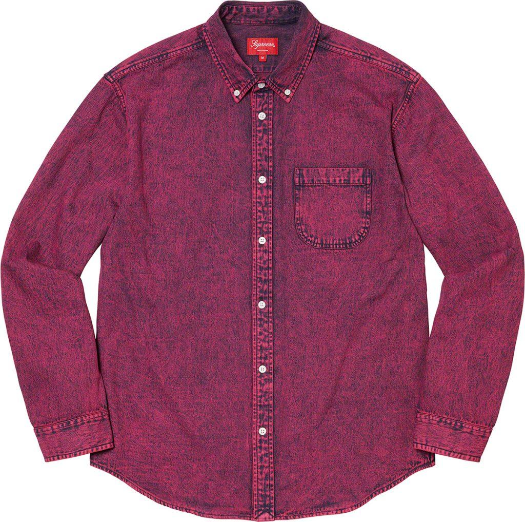 supreme-21aw-21fw-applique-denim-shirt