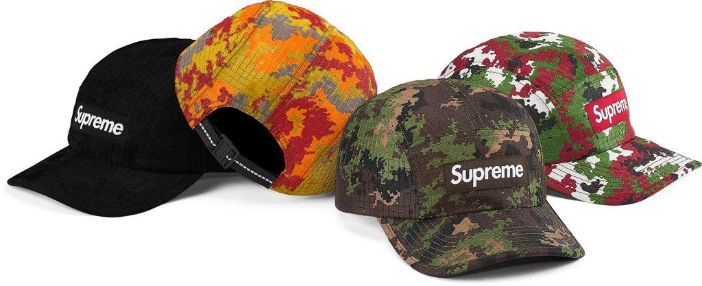supreme-21aw-21fw-camo-ripstop-camp-cap