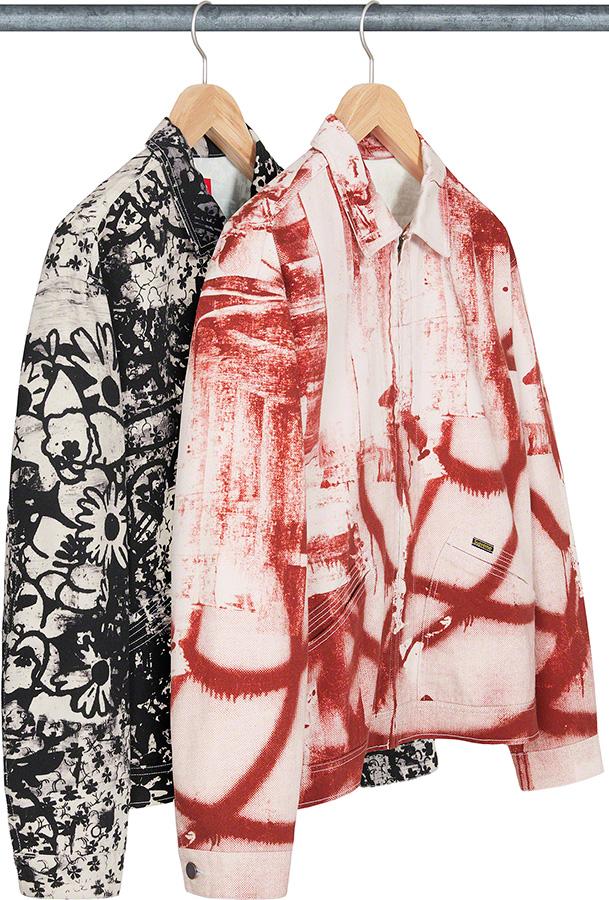 supreme-21aw-21fw-christopher-wool-supreme-denim-work-jacket