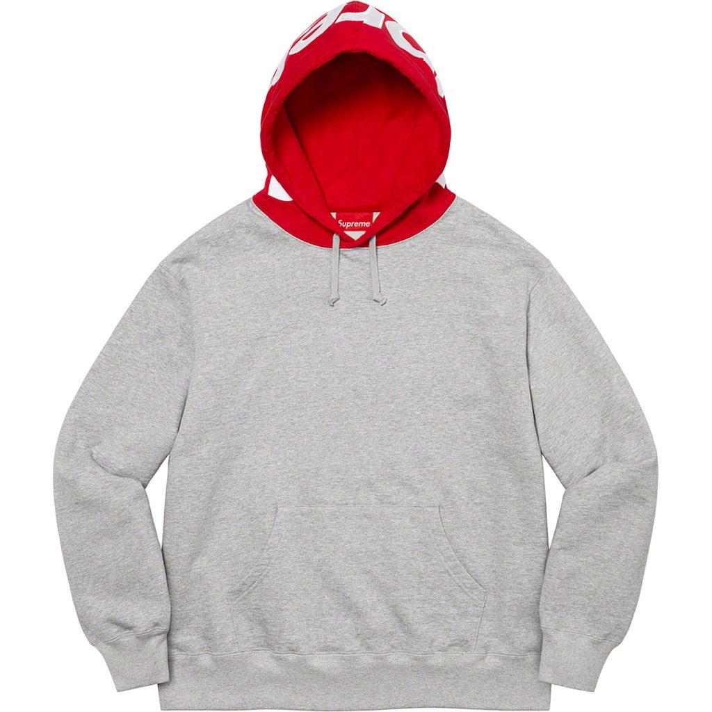 supreme-21aw-21fw-contrast-hooded-sweatshirt