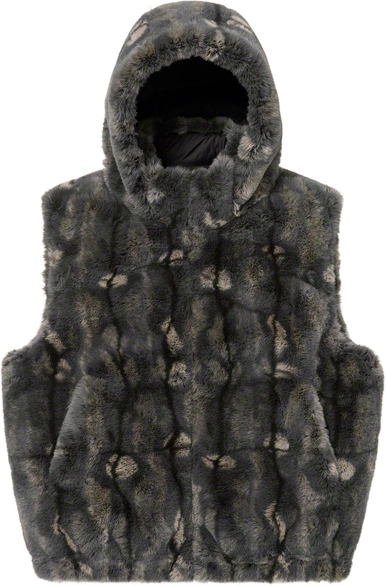 supreme-21aw-21fw-faux-fur-hooded-vest
