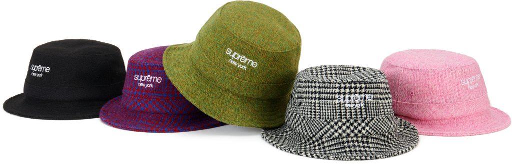 supreme-21aw-21fw-harris-tweed-classic-logo-crusher