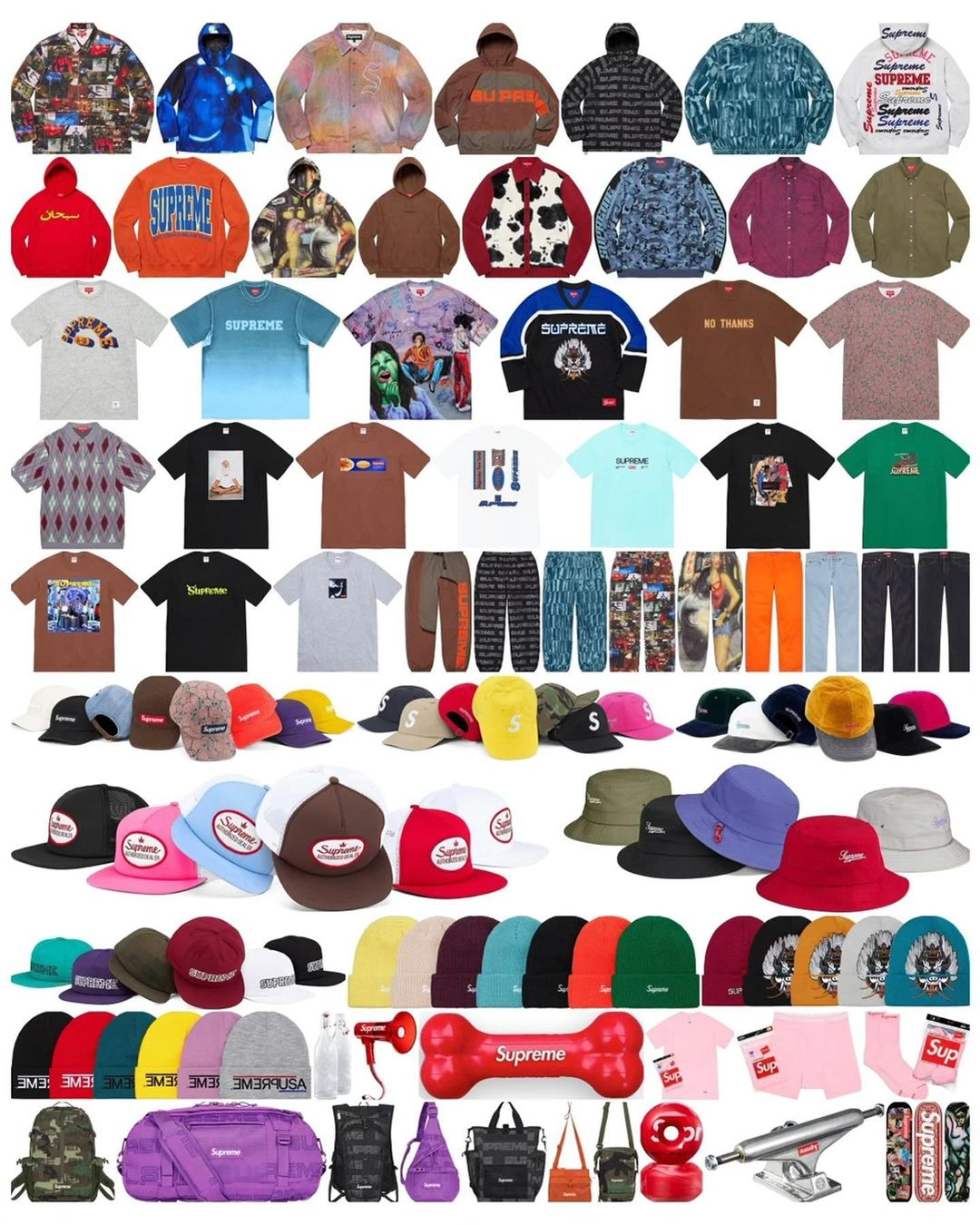 supreme-21aw-21fw-launch-20210821-week1-release-items-list