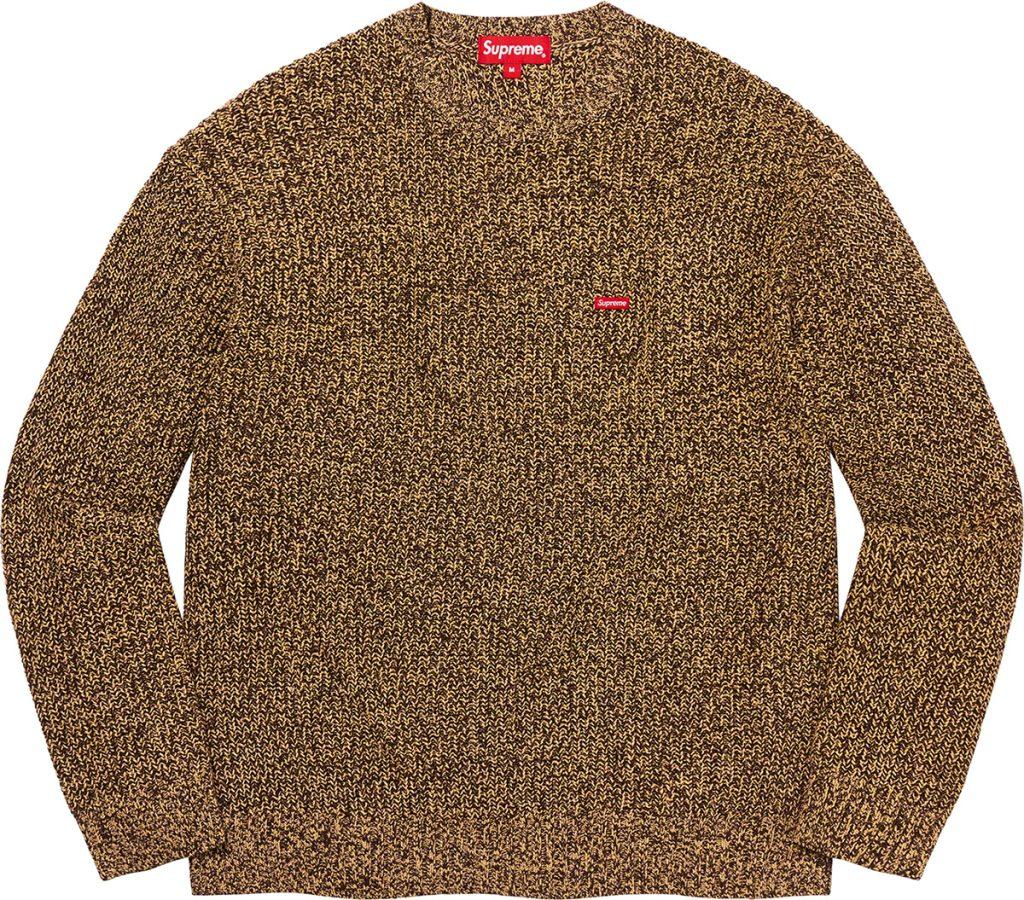 supreme-21aw-21fw-melange-rib-knit-sweater