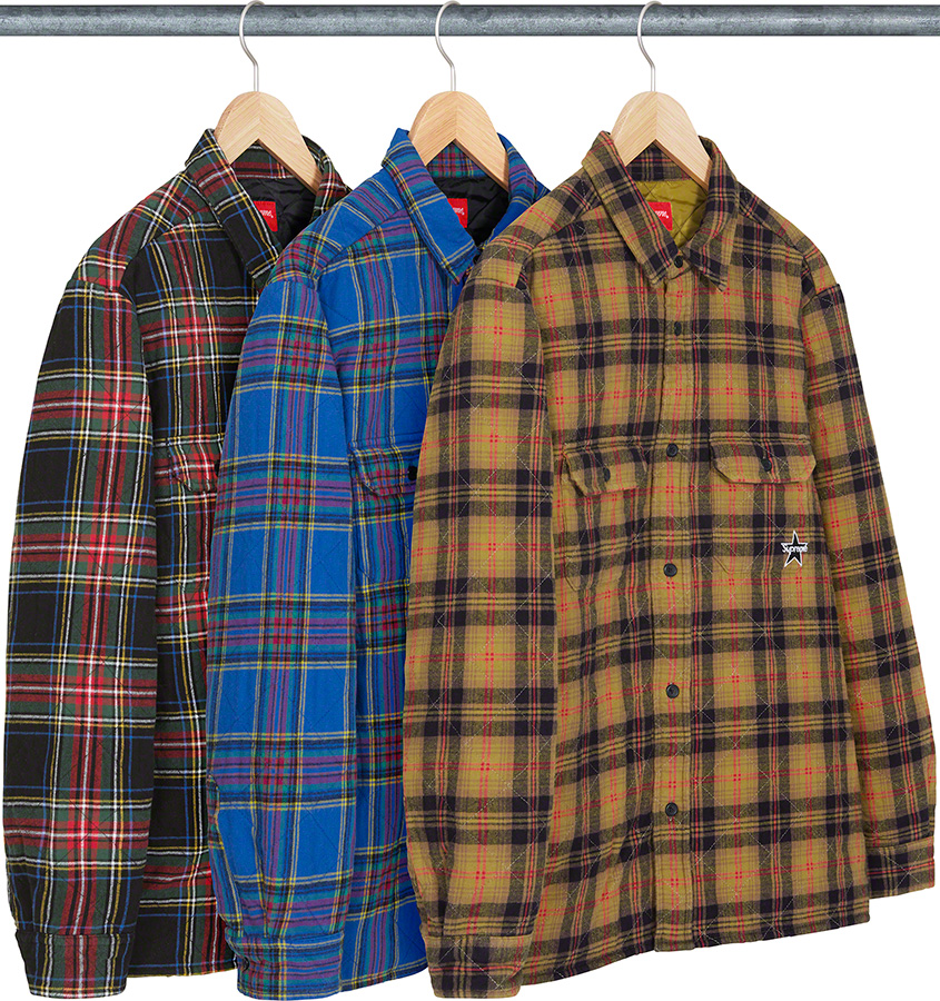 supreme-21aw-21fw-quilted-plaid-flannel-shirt