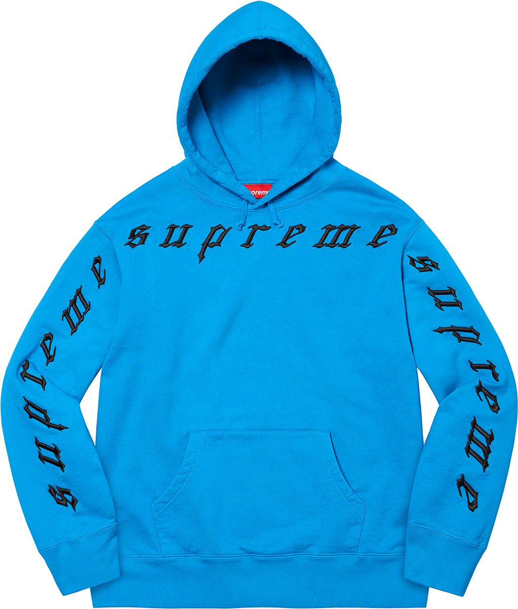 supreme-21aw-21fw-raised-embroidery-hooded-sweatshirt