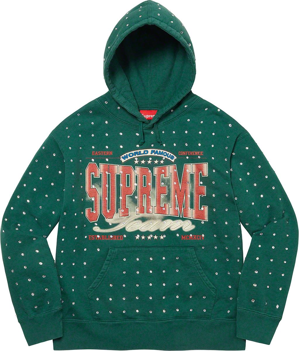 supreme-21aw-21fw-rhinestone-hooded-sweatshirt