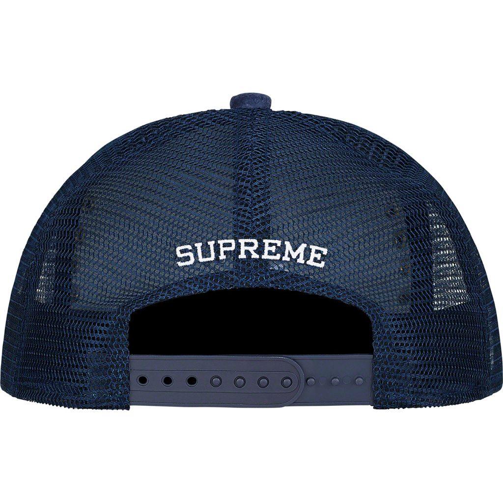supreme-21aw-21fw-studded-velvet-mesh-back-5-panel