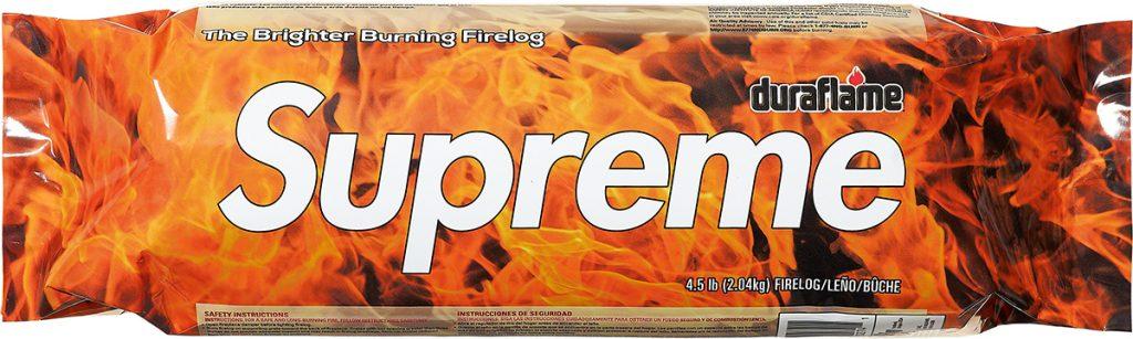 supreme-21aw-21fw-supreme-duraflame-fire-log