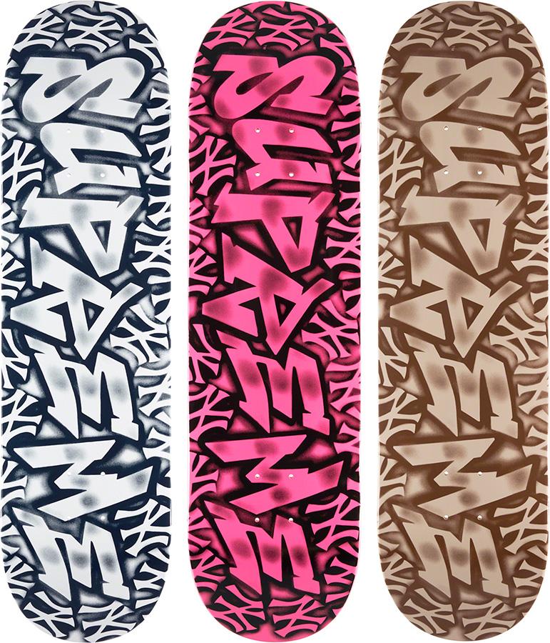 supreme-21aw-21fw-supreme-new-york-yankees-airbrush-skateboard