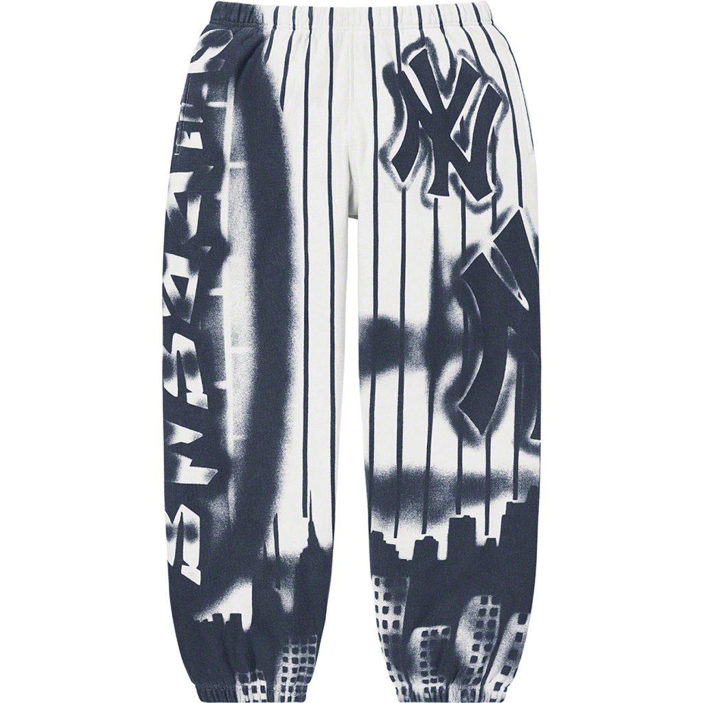 supreme-21aw-21fw-supreme-new-york-yankees-airbrush-sweatpant