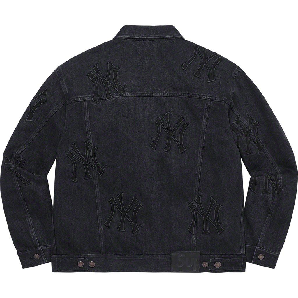 supreme-21aw-21fw-supreme-new-york-yankees-denim-trucker-jacket