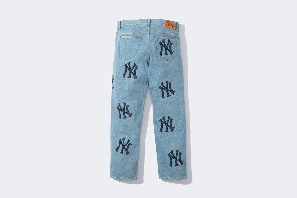supreme-21aw-21fw-supreme-new-york-yankees-regular-jean