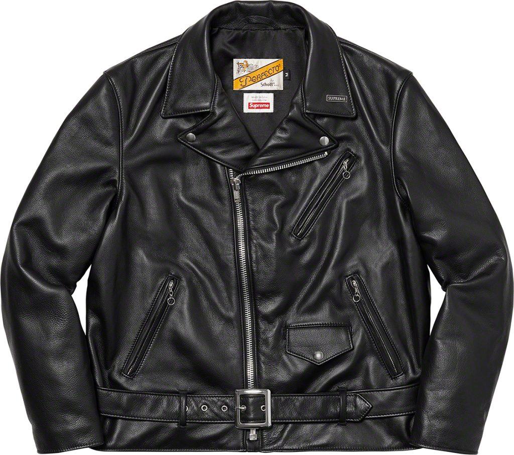 supreme-21aw-21fw-supreme-schott-the-crow-perfecto-leather-jacket