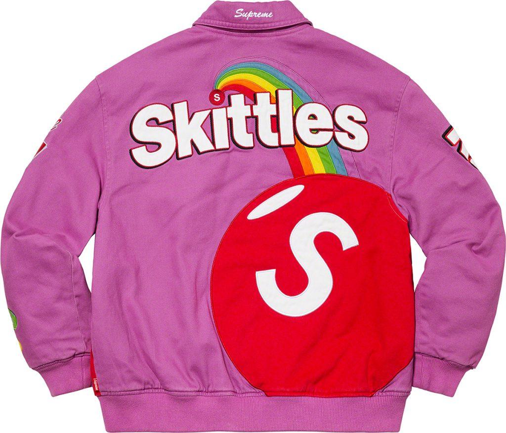 supreme-21aw-21fw-supreme-skittles-mitchell-ness-varsity-jacket