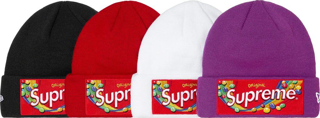 supreme-21aw-21fw-supreme-skittles-new-era-beanie