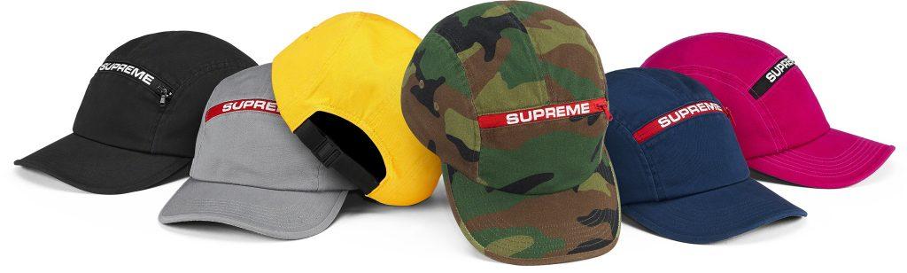 supreme-21aw-21fw-top-zip-camp-cap