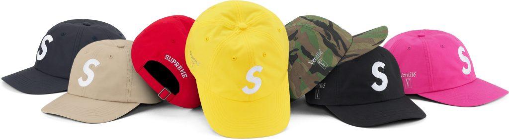 supreme-21aw-21fw-ventile-s-logo-6-panel