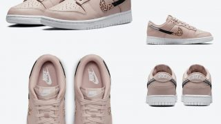 NIKE WMNS DUNK LOW PINK ANIMAL LEOPARD SWOOSHが10/17に国内発売予定【直リンク有り】