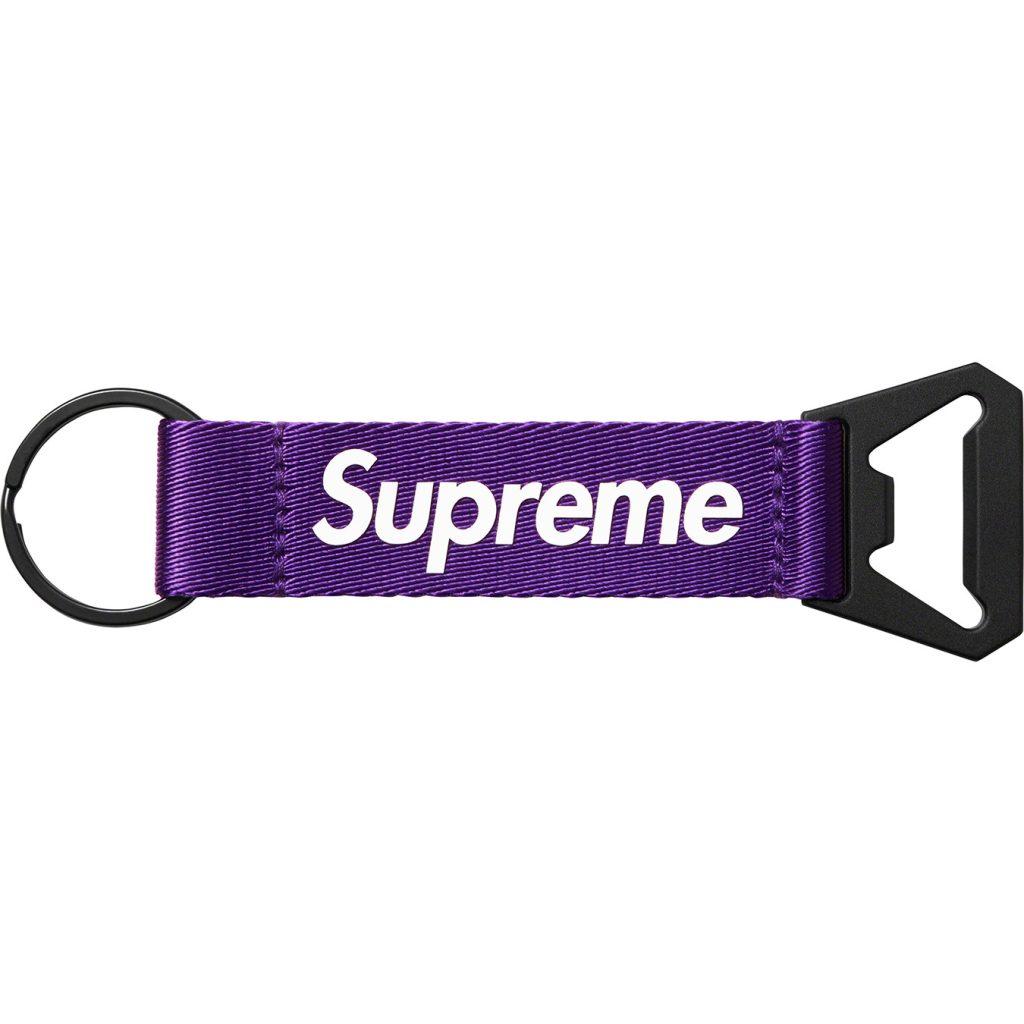 supreme-21aw-21fw-bottle-opener-webbing-keychain
