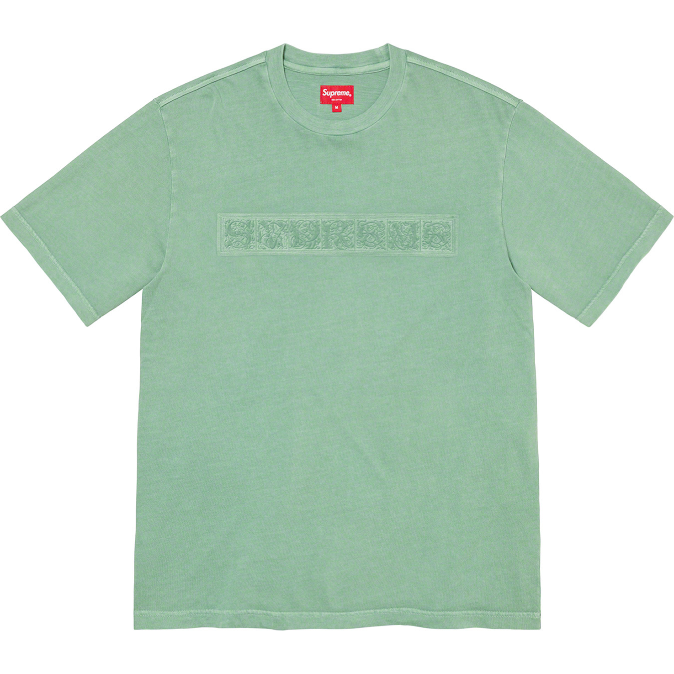 supreme-21aw-21fw-embossed-vines-s-s-top