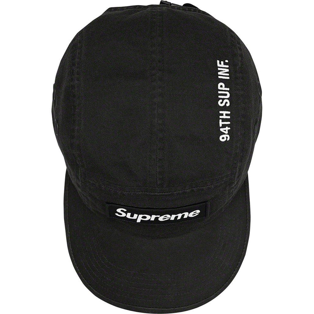 supreme-21aw-21fw-military-camp-cap