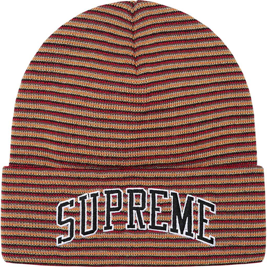 supreme-21aw-21fw-rainbow-stripe-beanie