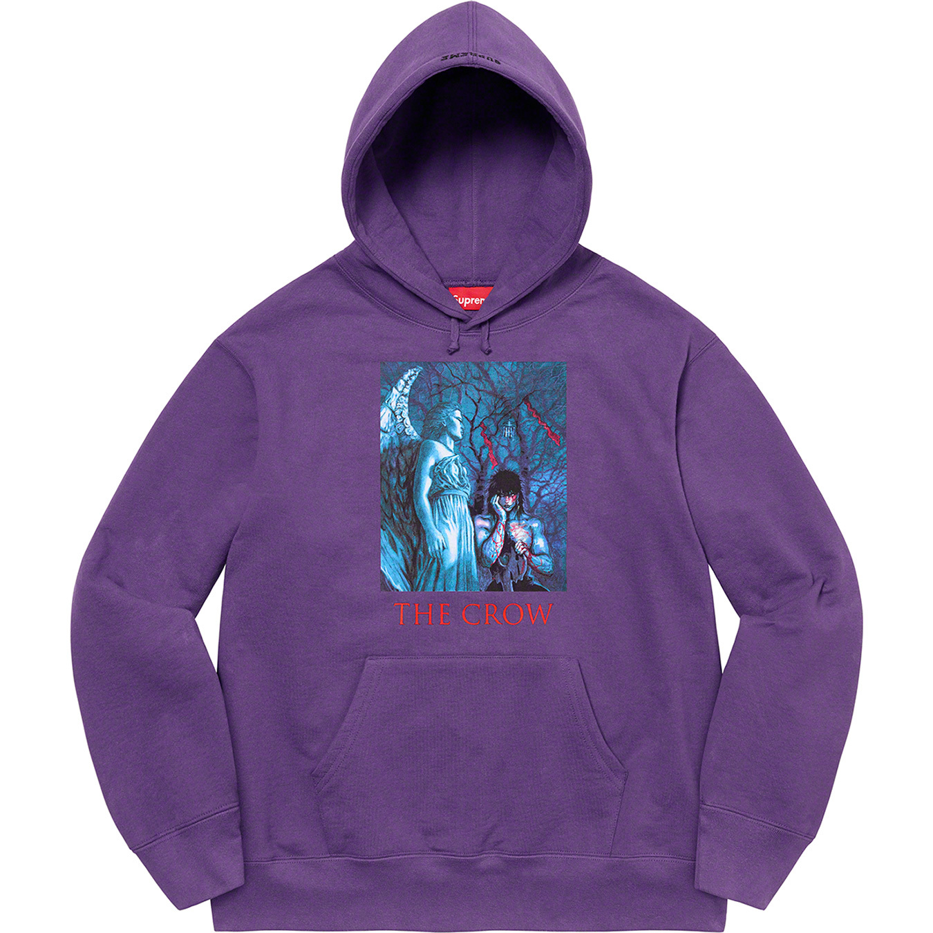 supreme-the-crow-21aw-21fw-collaboration-release-20210918-week4-hooded-sweatshirt