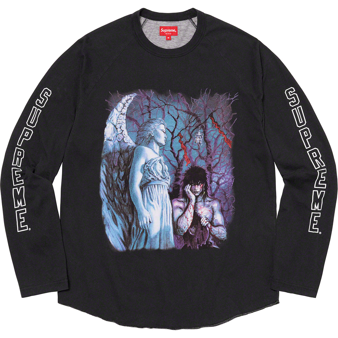 supreme-the-crow-21aw-21fw-collaboration-release-20210918-week4-raglan-l-s-top